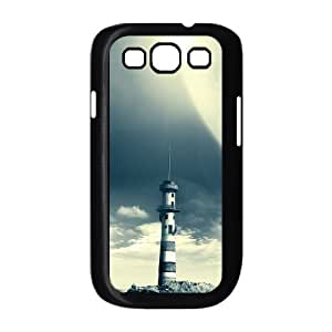 ALICASE Diy Back Case Lighthouse For Samsung Galaxy S3 i9300 [Pattern-1]