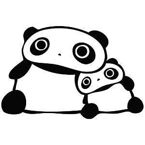 Amazon.com: Tare Panda Care - Cartoon Decal Vinyl