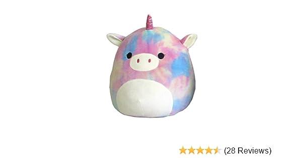 "Squishmallow Kellytoy 8/"" Rainbow Tie Dye Unicorn Super Soft Plush Toy Pillow Animal Pet Pal Buddy Rainbow Unicorn SG/_B07FSL4C4M/_US"