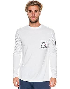 Mens Bubble Long-Sleeve Shirt
