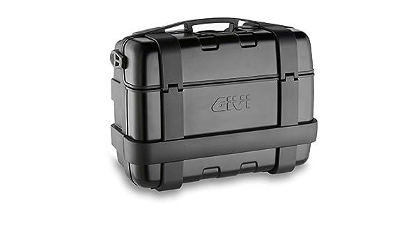 Carga M/áxima 10 Kg Givi TRK33B Trekker 33-Monokey Ba/úl con Cover Aluminio Color Negro