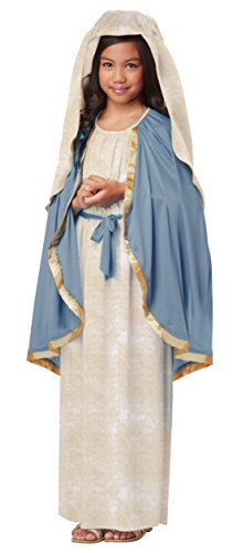 Female Catholic Saints Costumes (California Costumes The Virgin Mary Child Costume,)
