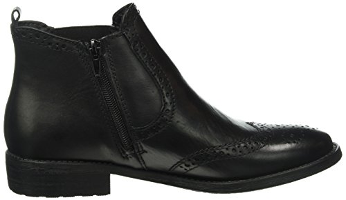 Tamaris 25493, Botas Chelsea para Mujer Negro (BLACK LEATHER 003)