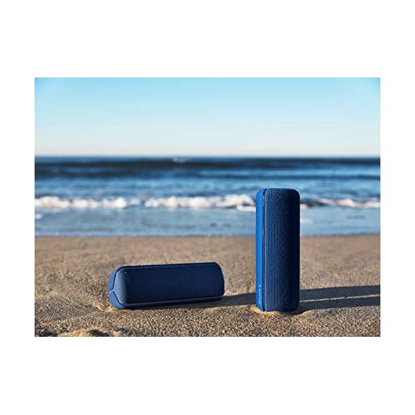 Sony SRS-XB32 Enceinte Portable Bluetooth Extra Bass Waterproof avec Lumières - Bleu 7