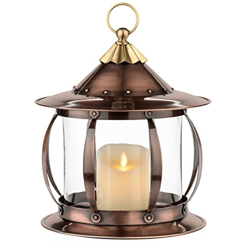 H Potter Decorative Candle Lantern Holder Table Top Patio Outdoor Indoor (Outdoor Patio Tops Table)