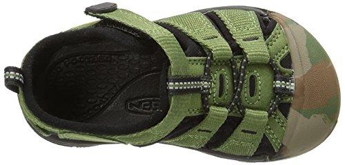 Keen Newport H2 Zapatillas de Senderismo, Unisex Niños Verde (Crushed Bronze Green)