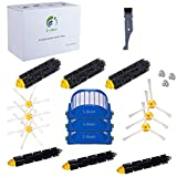 I clean Accessory for Irobot Roomba 650 660 690 770 790 Series Vacuum Cleaner Replacement Parts Beater Brushes ,Bristle Brushes ,Aero Vac Filters, Side Brushes Replace Kit