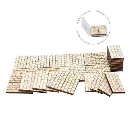 Dungeon Stone Square Floor Tiles (Set of 24) Wooden Laser Cut D&D Modular Terrain 1