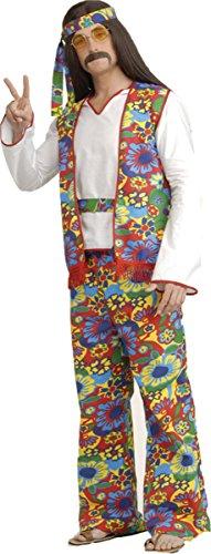 [Morris Costumes Men's HIPPIE DIPPIE MAN, One size] (Hippie Dippie Adult Mens Costumes)