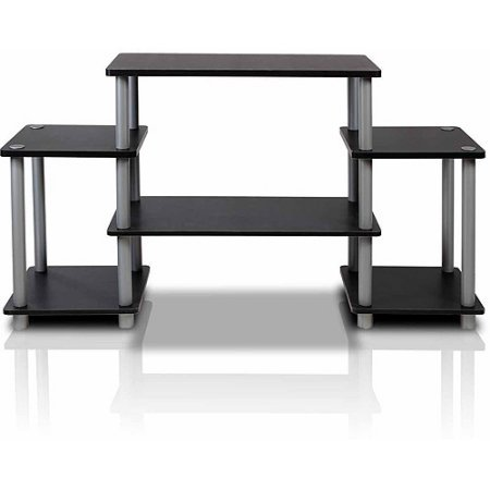 Furinno Turn-N-Tube No-Tools Simple Functional TV Stand fit TVs up to 37