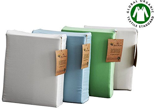 the green farmer organic cotton sheet set bedding300 thread countgots certified 100 organic cotton