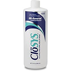 CloSYS Original Unflavored Mouthwash, Alcohol Free, 32 ounce