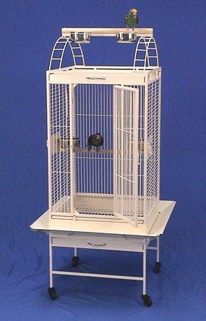 Lahaina Lanai Playtop Bird Cage with Stand - 22