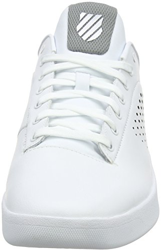 K-Swiss Herren Nova Court Sneaker Weiß (white/gray)