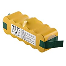 Masione Roomba 500 series Replacement Vacumm Battery 3.5Ah for iRobot Roomba 500 510 530 531 532 533 535 536 540 545 550 552 560 562 570 580 581 585 595