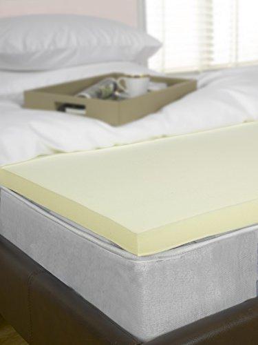 Memory Foam Mattress Topper, 3 inch, UK Double