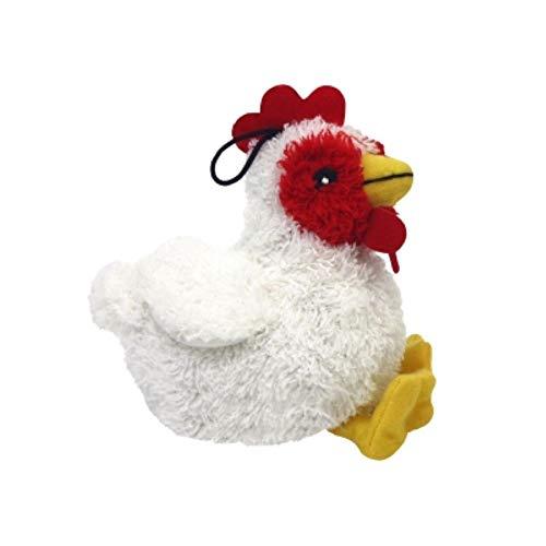 Multipet International 843082 Look Whos Talkn Chicken Dog Toy