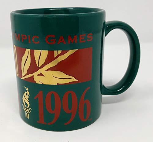 - Atlanta 1996 Centenial Olympic Games 100 yr Coffee Mug Green with Gold