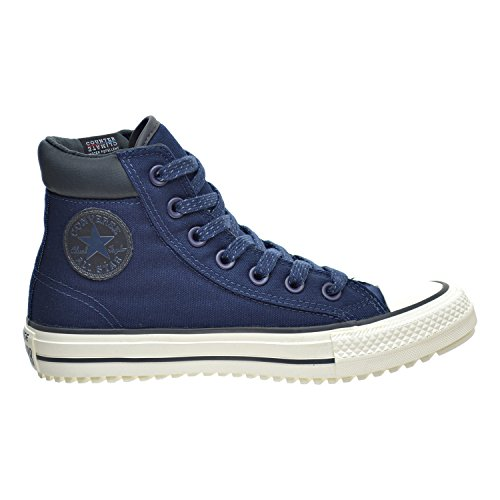 Converse Mens Chuck Taylor All Star Boot PC Coated Leather Hi Navy cheap price wholesale cheap largest supplier discount authentic ebay cheap online sale 2015 J8Ebbvlq