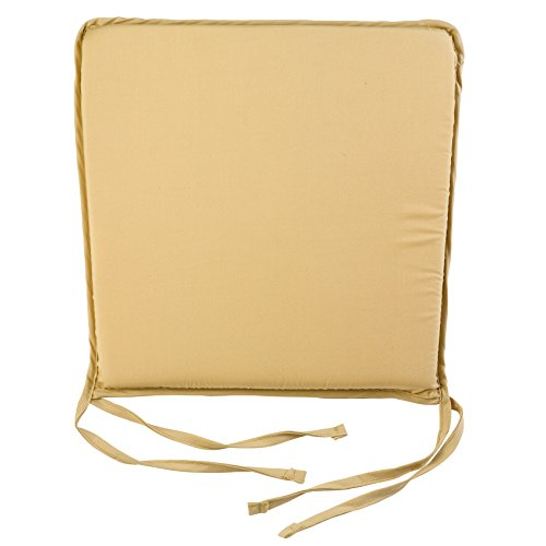 Plain Square Seat Pad Outdoor Garden Dining Kitchen Chair Cushion 15