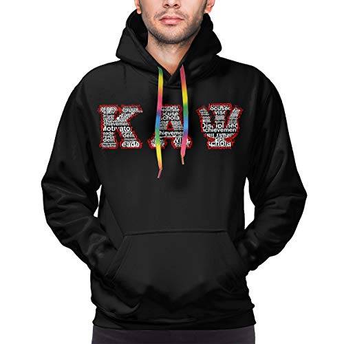 Kappa Alpha Psi Halloween Party (Kappa Alpha Psi Logo Hoodies Mens Mens Casual Solid Color Hooded Sweatshirts)
