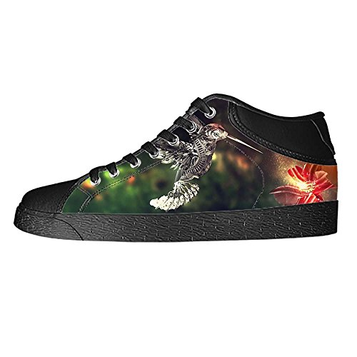 Dalliy Hummingbird And Flower Women's Canvas shoes Schuhe Lace-up High-top Footwear Sneakers GfeXLMUg
