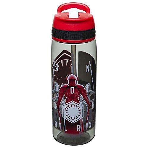 Zak Designs Star Wars The Last Jedi Reusable 25 Ounce Water Bottle With Straw - Praetorian Guard