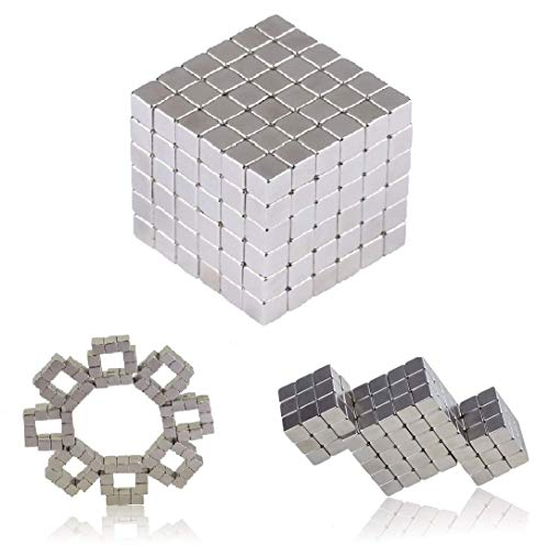 LYiUP Magnetic Cube 5MM 216pcs Magnets Sculpture Building Blocks Fidget Gadget Toys for Intelligence Learning Office Stress Relief Toys for Adults