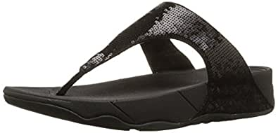 FitFlop Womens Electra Electra Black Size: 5