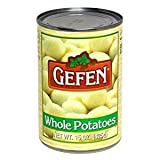 Gefen Whole Potatoes Kosher For Passover 15 Oz. Pack Of 6.