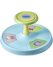 Playskool Peppa Pig Sit 'n Spin Musical Classic Spinning Activity Toy for Toddlers Ages 18 Months and Up (Amazon Exclusive)