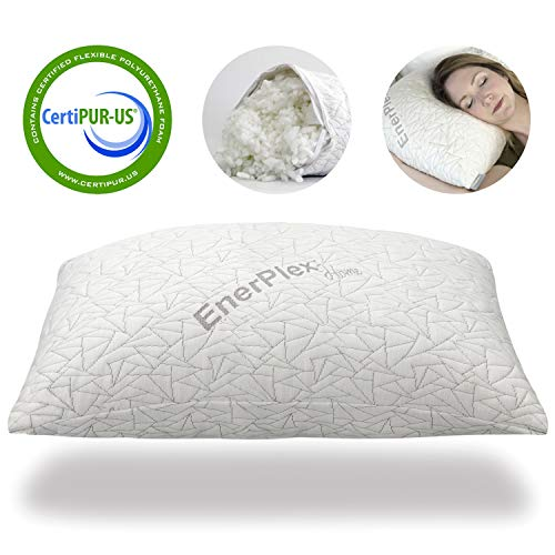 EnerPlex Upgraded Pillow Adjustable Shredded