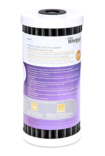 Whirlpool WHA4FF5 Large Capacity Inducement Carbon Whole Home Replacement Water Filter