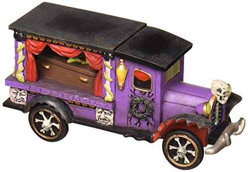 Department 56 Halloween Collections Last Rites Ride Figurine Village Accessory, Multicolor]()