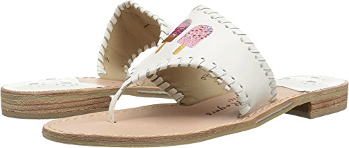 Embroidered Jack - Jack Rogers Women's Ice Cream Pops White 9 M US