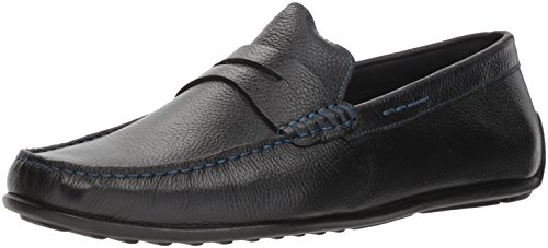 Donald J Pliner Men's IGOR-TF Loafer, Black, 12 D US