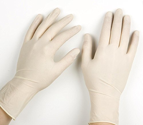 Price comparison product image 100 ESSENTIAL POWDER FREE ,LATEX FREE EXAMINATION /SURGICAL GLOVES (MEDIUM) 9582 by VINOGUARD