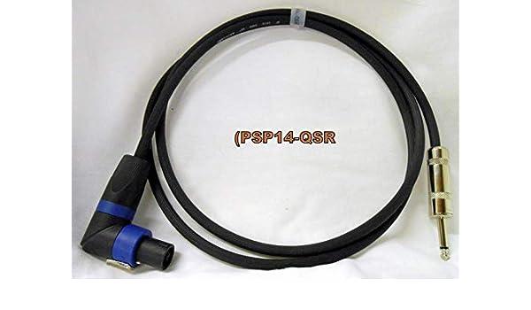 "10 Foot 12 Gauge Speaker Cable Speakon to 1//4/"" Connectors PSP12-10-QS ProCraft"