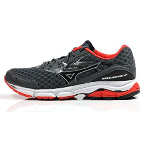 12 Shoes SS16 Mizuno Running Grey Inspire Red Wave AfnIrWyIcE
