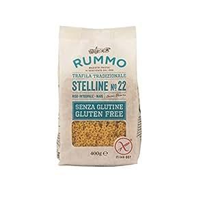 Rummo Stelline Sin Gluten Gr. 400 [6 paquetes]: Amazon.es ...