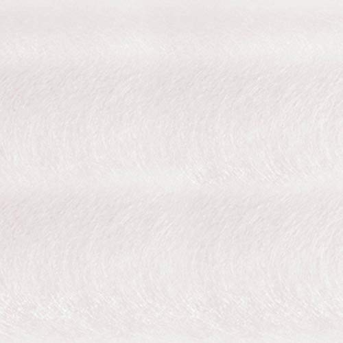 White Gossamer Decorating Material, 59 Inches x 100 Yards Long, Decorating Prom, Homecoming, Wedding Ceilings and Walls by TCDesignerProducts (Image #1)