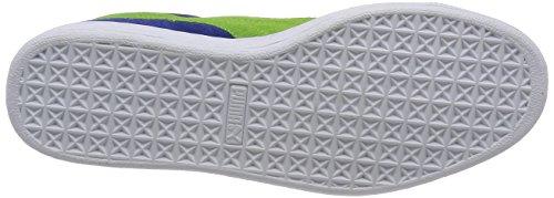 Puma Classic - Zapatillas Unisex adulto Azul (limoges/jasmine green/white)