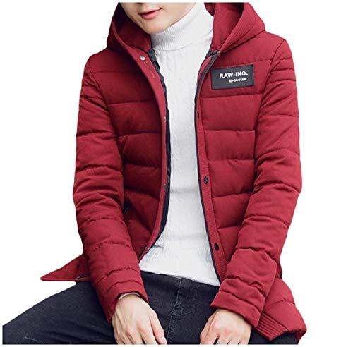 Full Mens A Juniores Giacca size Vento Incappucciato Vino Giacca Rkbaoye zip Plus Rossa Allentato Casuale xT0q7c5Hw