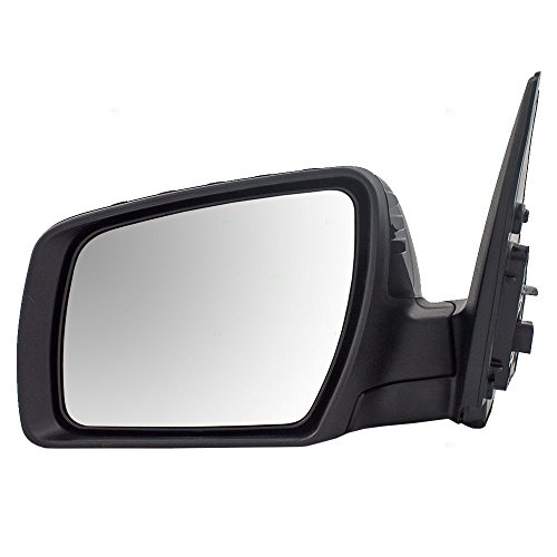 (Drivers Power Side View Mirror Heated Signal Ready-to-Paint Replacement for Kia 87610-2K831 AutoAndArt)