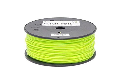 BQ Fila Flex Filament, 1.75 mm, 500 g, Green 1.75mm 500g 777-1019