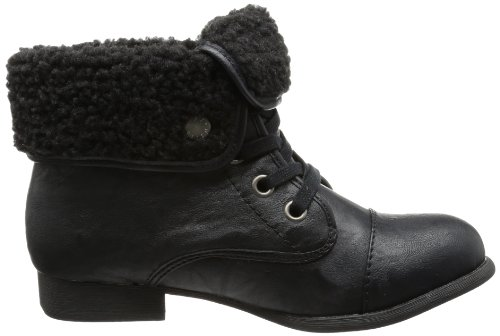 Blowfish Jack Furr Lace Boot, Bottes femme Noir - Schwarz (Black Pu Bfp1)