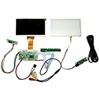 NJYTouch HDMI AV Remote Driver Board with 7inch 800x480 AT070TN92 LCD Screen + Touch Panel kit