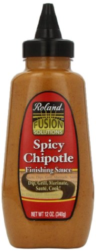 Roland Finishing Sauce, Spicy Chipotle, 12 Ounce