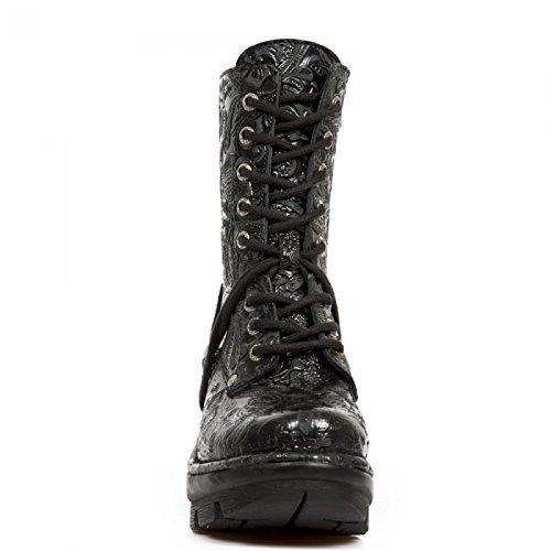 Nieuwe Rock Handgemaakte M Neotyre06 C1 Zwarte Vrouwen Sokje