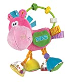 Playgro 0183303 Toy Box Clopette Activity Rattle Pink for Baby Infant Toddler Children, Playgro is Encouraging Imagination with STEM/STEM for a Bright Future - Great Start for a World of Learning